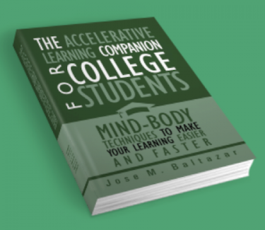 E-book:</p> <h4>The Accelerative Learning Companion for College Students</h4> <p>(Your E-book will be emailed to you)